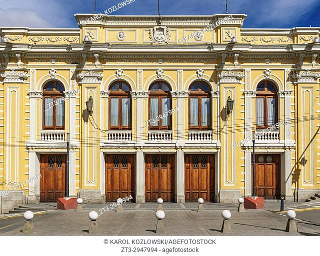 Alberto Saavedra Perez Municipal Theatre, Old Town, La Paz, Bolivia
