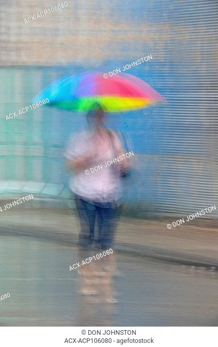 Street photography in central Havana- Reflections on a rainy day