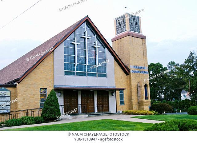 Old lady of calvary church, Philadelphia, Pennsylvania, USA