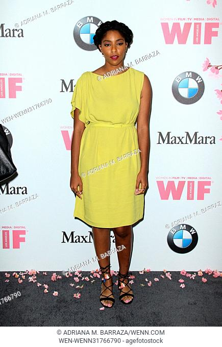 Women In Film 2017 Crystal + Lucy Awards held at The Beverly Hilton Hotel. Featuring: Jessica Williams Where: Los Angeles, California