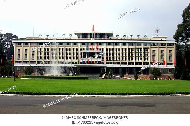 Reunification Palace, Ho Chi Minh City, Saigon, South Vietnam, Vietnam, Asia