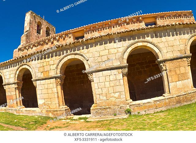 Chapel of Santa María de Tiermes, 12th Romanesque Style, Spanish National Heritage Site, Spanish Property of Cultural Interest, Montejo de Tiermes, Soria