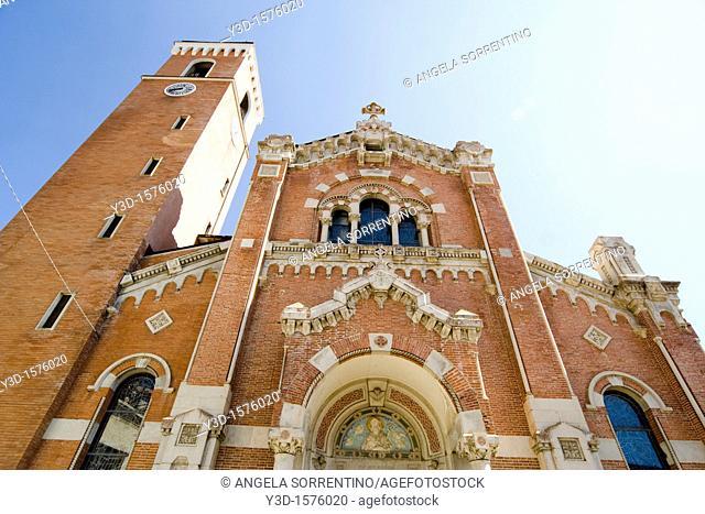 Rivisondoli cathedral, Abruzzi region, Italy