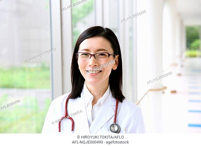Japanese doctor portrait