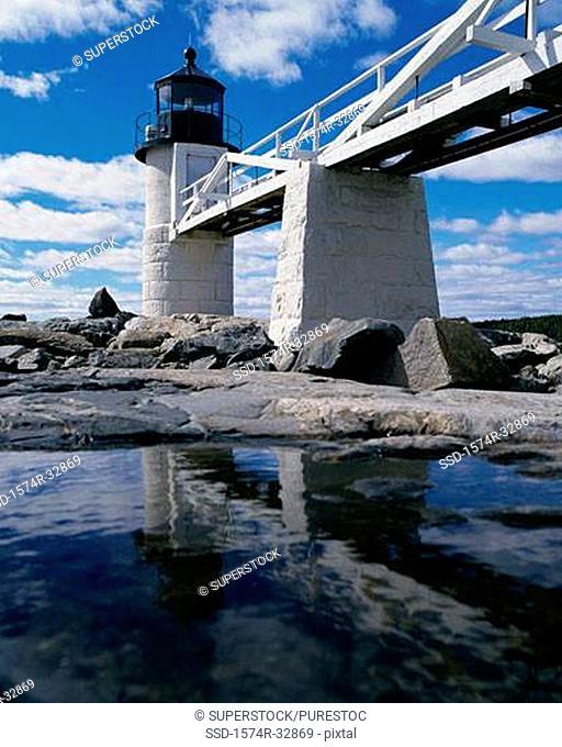 Marshall Point Lighthouse Port Clyde Maine USA
