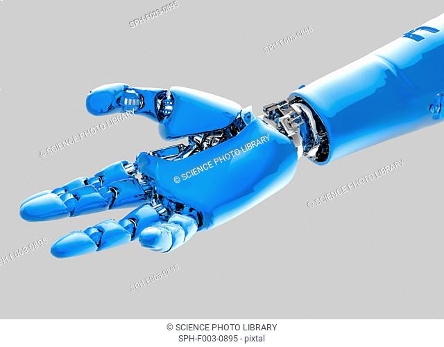 Cybernetic arm, artwork