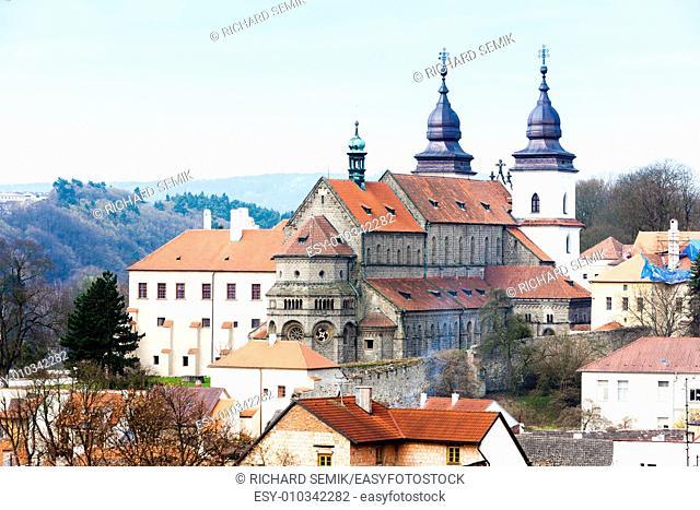 St. Procopius Basilica, Trebic, Czech Republic
