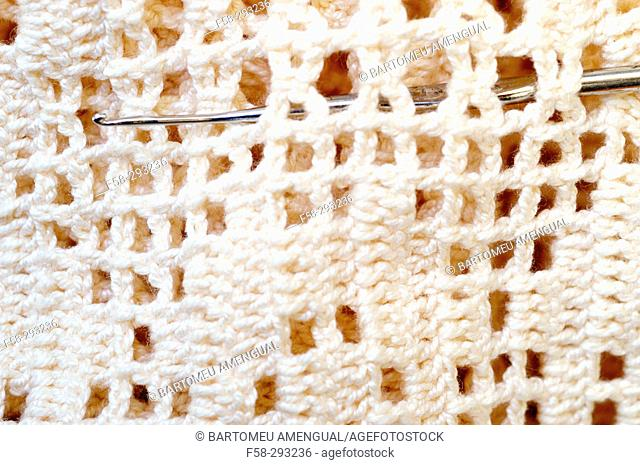 Majorcan knitting, crochet
