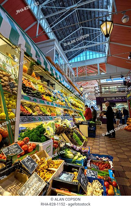 Covered Market, Oxford, Oxfordshire, England, United Kingdom, Europe