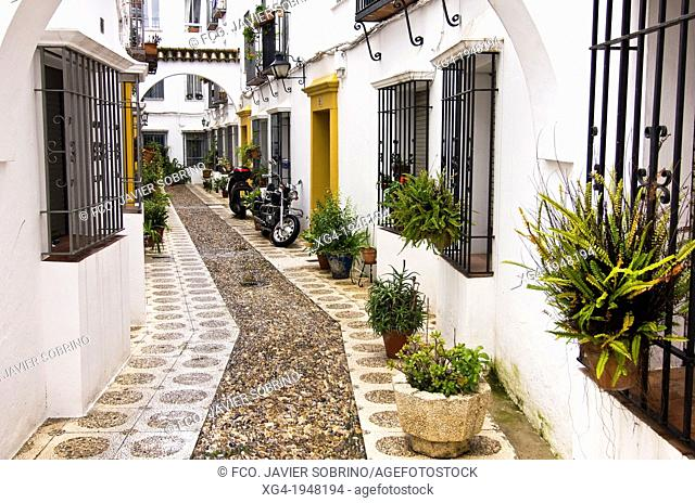 Typical streets - Cordoba - Andalucia - Spain - Europe