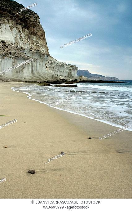 Cala de Enmedio beach, Cabo de Gata-Nijar Biosphere Reserve, Almeria province, Andalucia, Spain