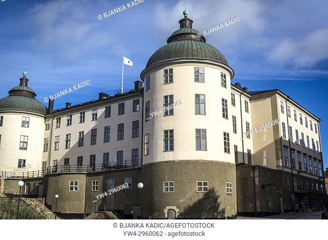 Wrangel Palace or Wrangelska palatset is a townhouse mansion on Riddarholmen islet in Gamla Stan, the old town of Stockholm, Sweden. NEF
