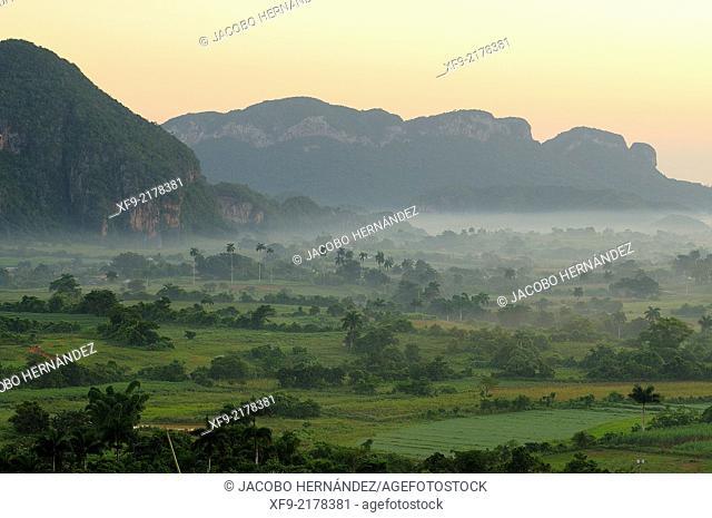 Viñales Valley.Pinar del Río province.Cuba