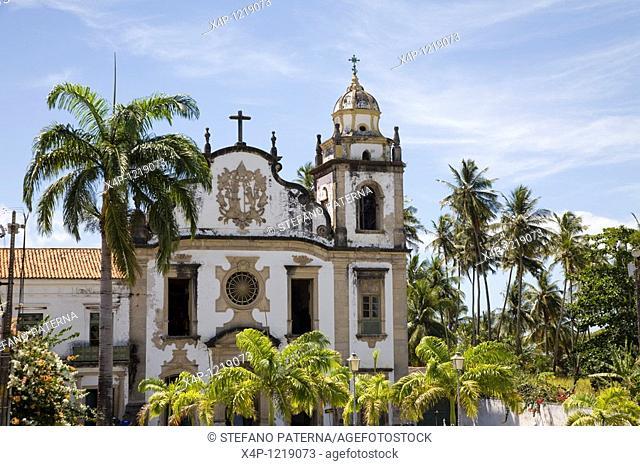 Basilica e Mosteiro de Sao Bento, Olinda. Near Recife, Brazil