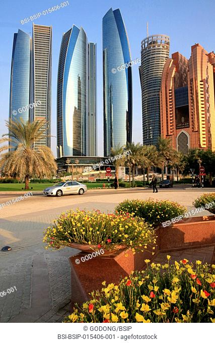 Etihad Towers building complex. Jumeirah. 2007-2011. Emirate of Abu Dhabi
