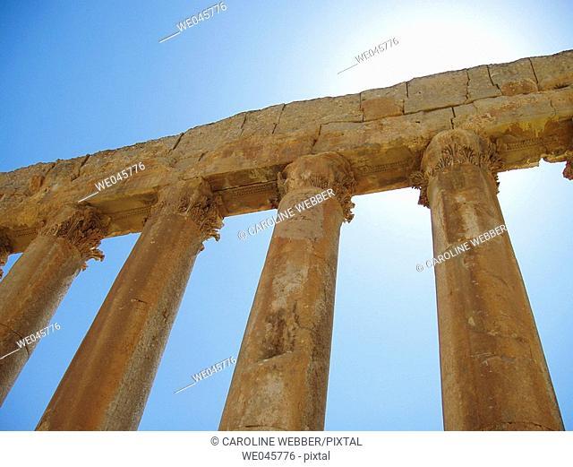 Temple of Jupiter, Baalbek, Lebanon
