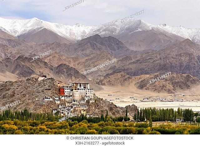 Spituk Monastery Gompa in Leh district, Indus River valley, Ladakh region, state of Jammu and Kashmir, India, Asia