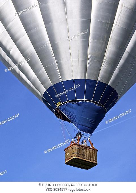 Balloon aerodrome, Val St Pere, Avranches, Normandy, France