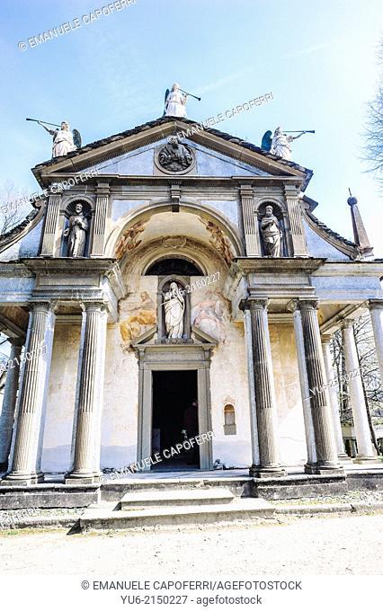 Chapel XI, Sacro Monte di Orta, Orta, Lake Orta, Piedmont, Italy