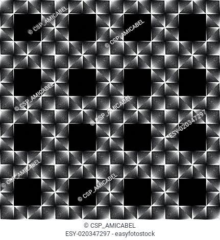 Design seamless square grid pattern