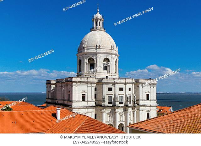 National Pantheon (the Church of Santa Engracia) in Lisbon, Portugal
