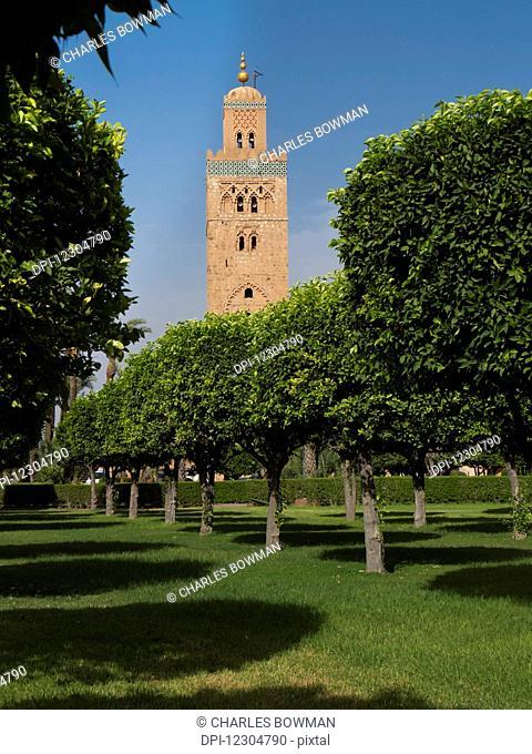 Koutoubia Mosque; Marrakech, Morocco