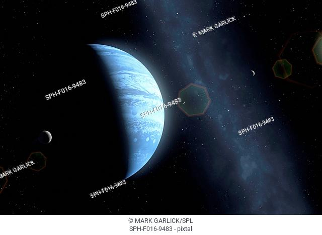 Planet Nine is a hypothesized massive planet, first proposed in 2014, that is speculated to orbit far out in the Solar System