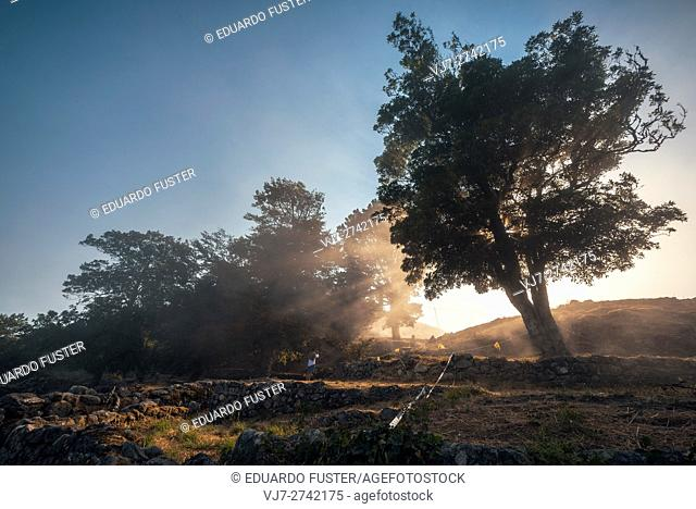 Santa Tecla celtic ruins (Pontevedra, Spain)