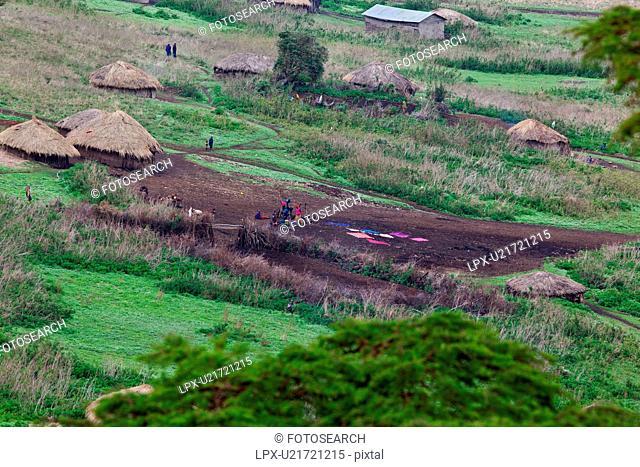 Ngorogoro, Central, Masai, Maasai, Conservation Area, Nilote, Africa