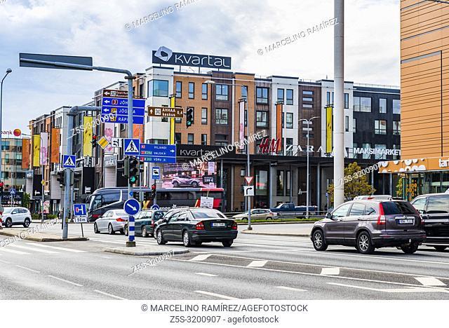 Shopping Center. Tartu, Tartu County, Estonia, Baltic states, Europe