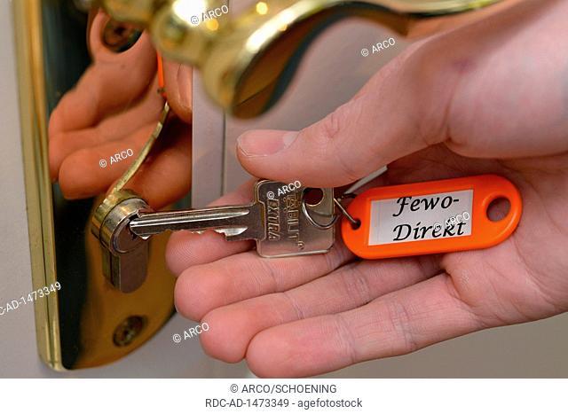 keys for holiday apartment, Fewo-Direkt