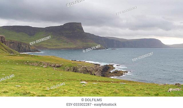 Landscape at Neist Point on the Isle of Skye, Scotland