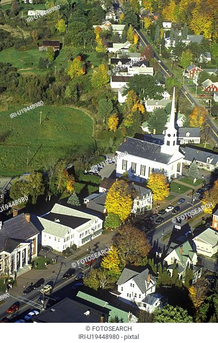 Aerial view of Stowe