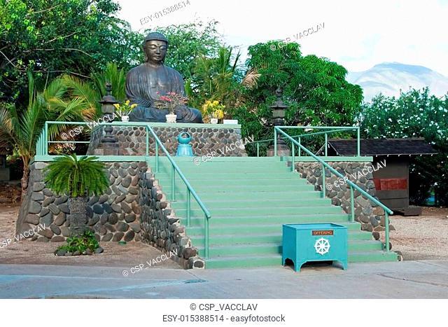 Lahaina jodo mission on Maui Island Hawaii
