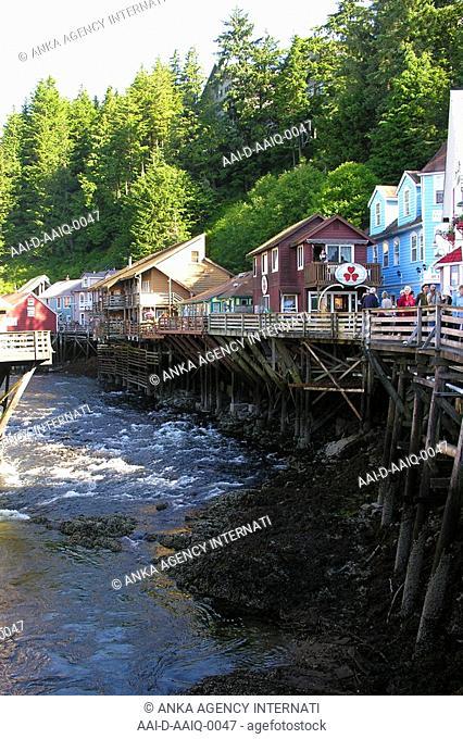 Ketchikan Hill Street, Alaska