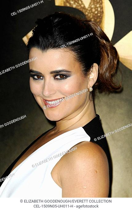 Cote de Pablo at arrivals for THE 33 Premiere at at AFI Fest, TCL Chinese 6 Theatres (formerly Grauman's), Los Angeles, CA November 9, 2015