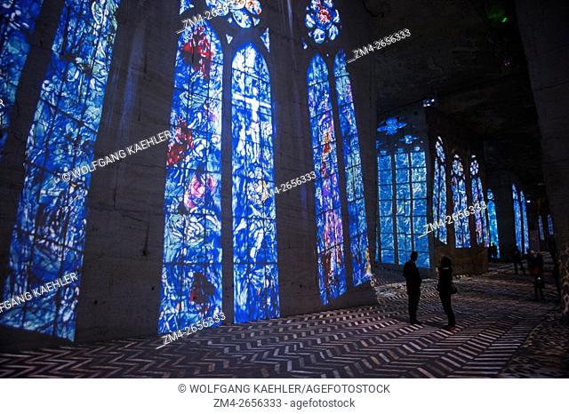 The Carrieres de Lumieres (Quarries of Lights) is a multimedia show that projects thousands of art images onto the interior of an abandoned limestone quarry in...