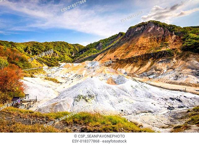 Noboribetsu, Hokkaido, Japan at Hell Valley