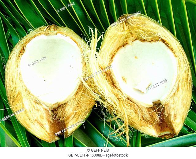 Green coconut, São Paulo, Brazil