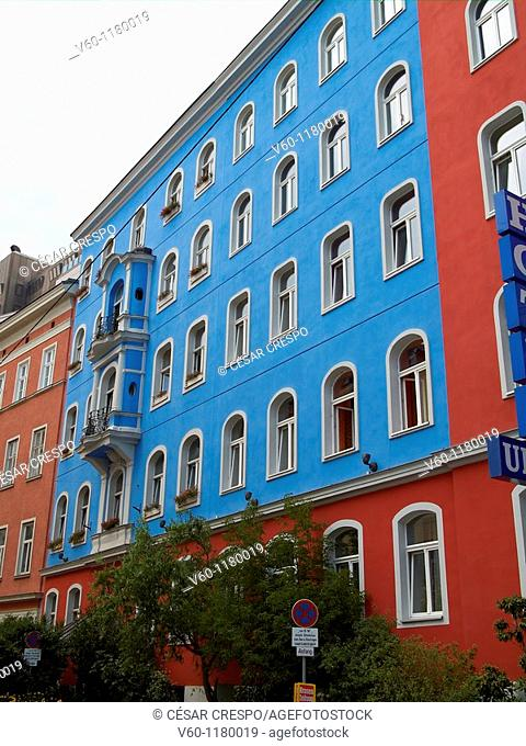 -House colored- Wien (Austria)