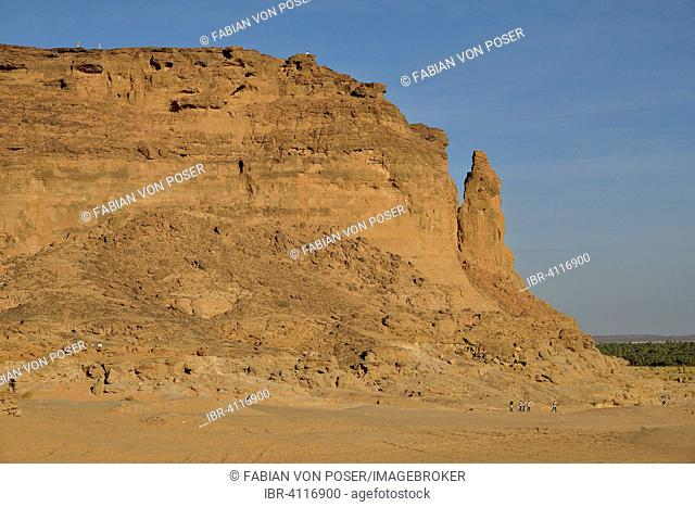 Pinnacle of Gebel Barkal, Karima, ash-Schamaliyya, Nubia, Sudan