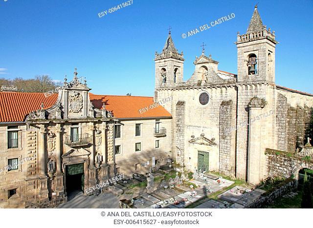 State run hotel in Santo Estevo Monastery, Ourense, Galicia, Spain