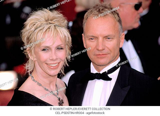 Sting at the academy awards Stock Photos and Images | age