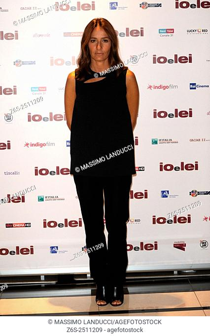 Maria Sole Tognazzi;tognazzi ; actress; celebrities; 2015; rome; italy; event; photocall ; io e lei
