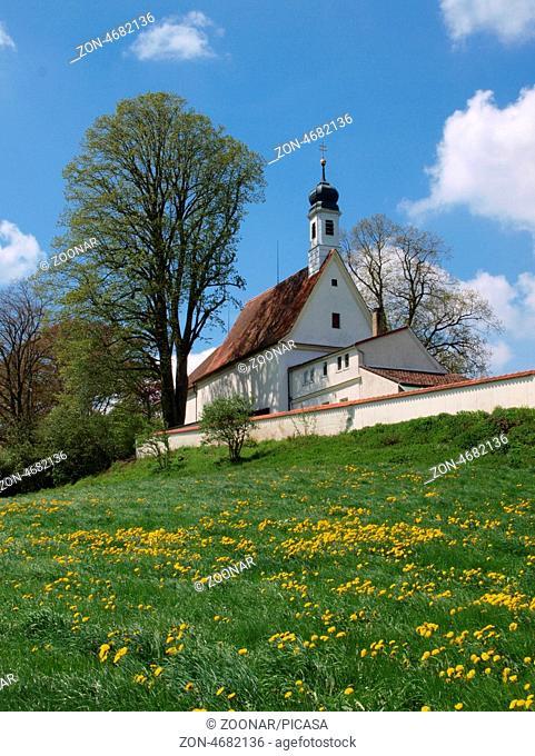 Loreto chapel near Wolfegg in upper swabia