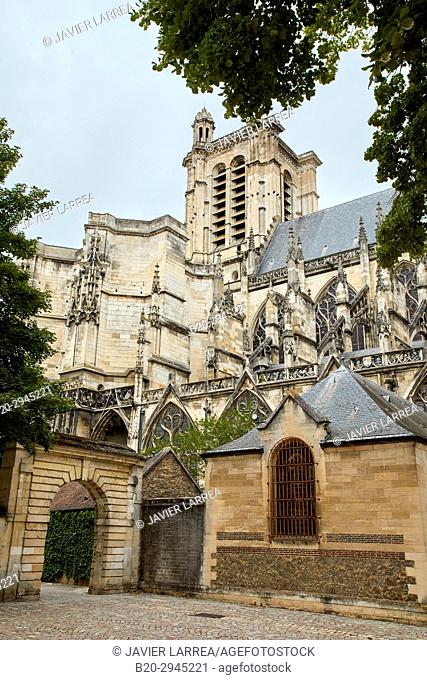 Cathedrale Saint-Pierre Saint-Paul, Troyes, Champagne-Ardenne Region, Aube Department, France, Europe
