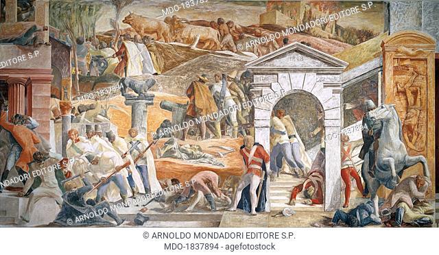 The Deeds of the University Students during the Risorgimento ( Le gesta della gioventù universitaria durante il Risorgimento), by Pino Casarini, 1940