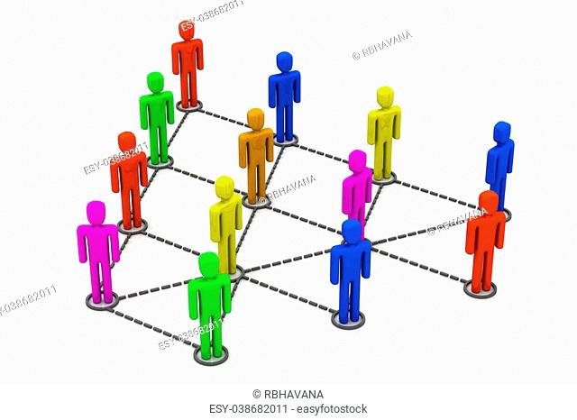 Colorful Business network