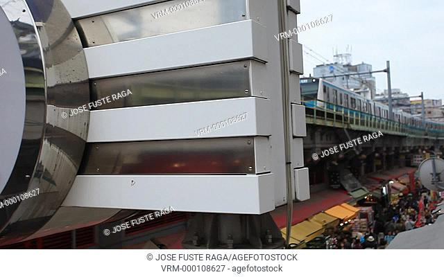 Japan, Tokyo City, Ueno District , Ameyoko Shopping street