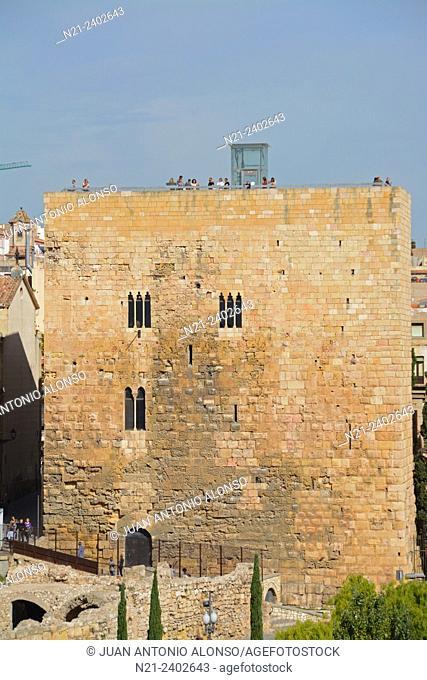 Roman Pretorio. Tarragona, Catalonia, Spain, Europe